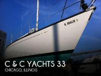 1985 C & C Yachts 33 - Stock #088171 -