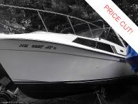 1985 Carver Monterey 29ft Cabin Cruiser. The boat is