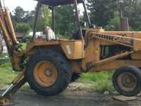 1985 CASE BACKHOE FOR SALE IN GOOD CONDITION. 10,000
