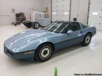 For Sale: 1985 Chevy Corvette. Just turned over 86,000
