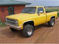 This great classic is one hot truck! Its rust-free and
