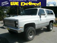 1985 CHEVROLET BLAZER 2DR K5 Our Location is: Salmon