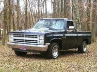 1985 Chevy C-10 with 1984 Block 350 4 bolt main bored