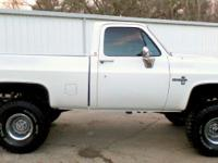 1985 CHEVY SILVERADO 4X4 FRESHLY BUILT!!!!!      NEW