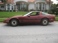1985 Chevrolet Corvette located in Debary, Florida.