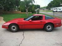 1985 Chevrolet Corvette This 1985 Chevrolet Corvette is