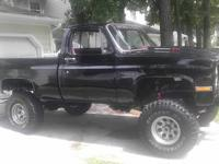 Selling a 1985 K-10 silverado this truck has been