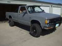 I have an '85 S10 that I'm parting out. It has a 4spd