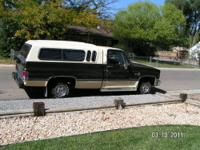 Nice 85' Chevy Scottsdale Pick up with dual tanks and