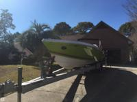 This 1985 Chris Craft Stinger 32 is a real beauty! An
