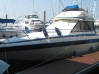 This classic 1985 Chris-Craft 333 Commander has been