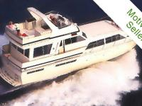 This timeless, handsome flybridge motoryacht provides