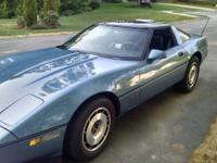 1985 corvette in very good condition, 89,000 miles,