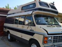 1985 Dodge Camper Van $4500 (Firm Price-already dropped