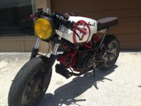 . Super Rare 1985 Pantah/Ducati Cafe Racer! This Ducati