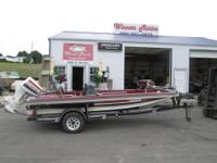 1985 Ebbtide Dyna-trak Fishing Boat for sale. 15ft boat