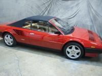 Beautiful Ferrari Mondial QV Cabriolet in classic