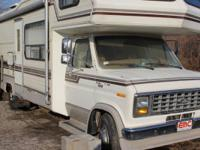 1985 ford class c camper    460 ford engine