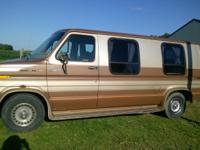 1985 Ford Econoline Conversion Van