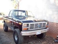 I have up for sale a 1985 Ford F150 4x4 short bed four