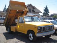 1985 Ford F350 Diesel Dump Truck w/8' Bed   Will