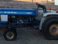 This is a really clean 1985 Ford tractor model number