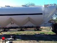 1985 FRUEHAUF Tank Trailer, Air ride suspension,
