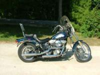 Description 1985 Harley-Davidson soft-tail FXST 1340