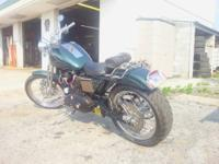 This is a 1985 Harley Davidson Sportster Custom Build