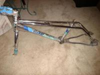 1985 Haro Master frame and forks. Used condition some