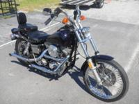 1985 HARLEY DAVIDSON FXWG (WIDE GLIDE) This is a real