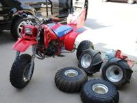 1985 Honda ATC 250R. Very nice, well-cared-for,