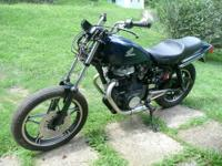 1985 CB450SC Nighthawk parts bike, there is no