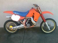Have a 1985 Honda CR500 that has been sitting for
