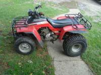 i am selling a 1985 honda fourtrax 250 with reverse.has