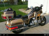 Selling a 1985 Goldwing GL1200L anniversary edition