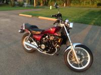 This is a 1985 Honda Magna V30 in terrific condition. I
