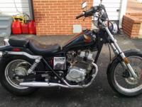 Nice 1985 Honda Rebel 250. This bike runs well and has