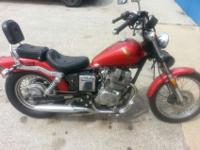 1985 Vintage 250cc Honda Rebel Motorcycle Cherry