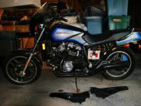 1985 Honda Sabre: VF1100S V65 This Street Bike is