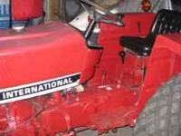 I have a 1985 International 284 tractor for sale. New