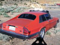 This is a 1985 Jaguar 2 DR Coupe with 173,332 miles. It