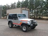 Really good timeless 1985 Jeep CJ-7. 194,000 miles.