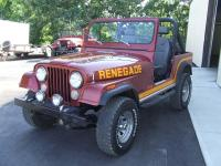 1985 JEEP CJ-7 RENEGADE. 6 CYL AUTOMATIC. FUEL