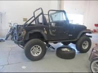 THIS CJ-7 WOULD MAKE A GREAT JEEP WITH A LITTLE BODY