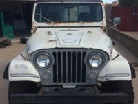 This Jeep needs a good restoration and has been having