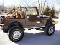 Year: 1985 Mileage: 165,000Make: Jeep Vehicle Title: