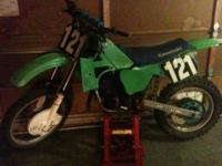 Selling my 1985 Kawasaki KX 250 totally restored with