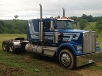 1985 KENWORTH W900, 1127000 miles, Exterior: Blue,