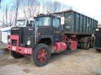 1985 Mack Roll-off Dump Truck. Model #RD686SX. 10
